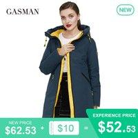 Gasman 2020 Yüksek kaliteli marka 210 yeni sıcak thcik ceket dış giyim Kadın kış ceket kadın ceket Kadın sıcak parka aşağı kapüşonlu