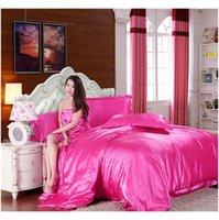 الجملة الساخنة! 100٪ مجموعة الفراش الحرير الحرير النقي، المنسوجات المنزلية التوأم الملكة الملك حجم السرير مجموعة، أغطية السرير، duve jllxbp warmslove