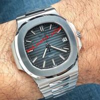 18 styles U1 usine de luxe montres de luxe 40mm 5711 5711R gravé Mécanique Mouvement automatique Sapphire Cristal Sport Sport Wickstatches