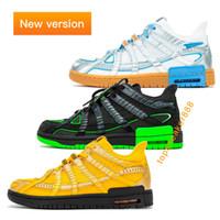 Air Rubber Dunk Off White Green Strike Sneaker Shoes Qualitäts-Mann-Frauen-Turnschuh-Low-beiläufigen Schuh-G Größe 36-46