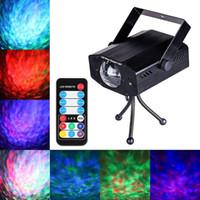 9W RGB LED Water Wave мультипликационный эффект свет этапа лазерный проектор лампа Christmas Disco DJ Show Party Event День рождения Light