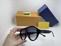Toptan-Lüks MILLIONAIRE Sunglasses 0971 En kaplı erkekler kadınlar Parlak Altın Logo Sıcak satmak Altın için tam çerçeve Vintage tasarımcı güneş gözlüğü