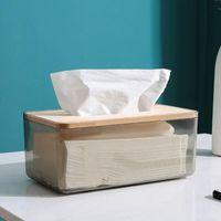 Caixa de tecido plástico transparente titular molhado titular bebê toalhetes de papel caixa de armazenamento de papel dispensador de toalha de guardanapo de casa