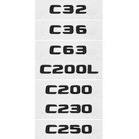 Автомобильные наклейки пластиковые аксессуары наружные наклейки украшения наклейки для Mercedes Benz C32 C36 C63 C200L C200 C230 C250 W203 W205 W176 W168