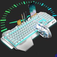горячий новый K680 перезаряжаемые беспроводные механические клавиатуры и мыши набор клавиатура и мышь Комбо бесплатная доставка
