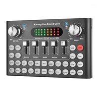 Schede audio Convertitore vocale in diretta, o DJ Mixer, Broadcast, Broadcast Recording Multi-Sound Effect Box1