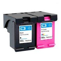 Cartucce d'inchiostro Bonala Re-Manufad Cartridge 302XL per Deskjet sostituzione della stampante 302 XL 1110 1111 1112 2130 4512 45131