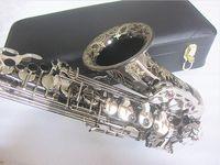 جديد ألتو ساكسفون ألمانيا jk sx90r keilwerth الأسود ألتو ساكس الأعلى المهنية الموسيقية مع حالة 95٪ نسخة شحن مجاني