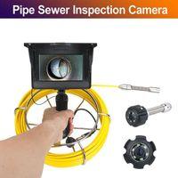 5inch 22mm Handindustrierohrkanalinspektion Videokamera IP68 wasserdichtes Abflussrohr Kanalinspektion Kamerasystem