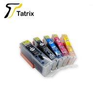 Tatrix para Canon PGI470 CLI471XL PGI470 CLI471 Cartucho de tinta recargable para Canon Pixma MG5740 MG6840 MG7740 Printer1