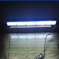 75cm 30W LED Bright LED Strobe Strobe Luci di Avvertenza, Ambulanza di emergenza della polizia Barra luminosa dell'ambulanza di emergenza, Lampada da lavoro, Monte da Magnetics, Impermeabile