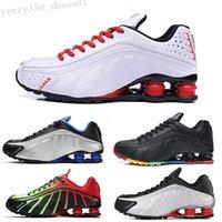 NIKE Air SHOX R4 301 2019 a buon mercato Mens 802 803 Avenue NZ Scarpe Top Quality Men R4 Sneakers Chaussures Hombre Man Stugini da donna TN Dimensione 40-46 WB06