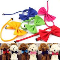 Dog Pet Bowties Gentel Bowknot Beau Beau Cravate Cravate Ceux Colliers Colliers de toilettage pour animaux de compagnie Fournitures 96 J2