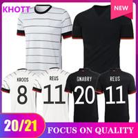 2020 Jersey de futebol 2021 casa fora de futebol camisas uniformes Alemanha adulto homens kit