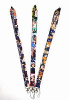 Nuovo caldo 10pcs popolare del fumetto Anime Haikyuu laccio per la catena del telefono mobile chiave Neck Strap fotocamera ID carta di trasporto