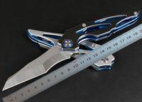 1 pz New Ball Bearing Flipper Pieghevole coltello 8Cr13Mov lama satinata in acciaio inox maniglia in acciaio inox sopravvivenza coltelli tattici