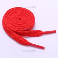 2021 New Sholace Unisex Ropes 여러 가지 빛깔의 왁스 둥근 코드 드레스 신발 끈 DIY 고품질 솔리드 100-150cm 다채로운 shoelace 14