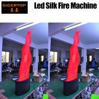 2 وحدة 1.5 متر الحرير LED الشعلة الخفيفة / بقيادة آلة الرش النار مع 36PCS 10MM بقيادة تأثير الضوء، معدات المستشفى، والديكور قاعة الرقص