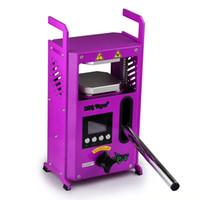 정통 LTQ 전자 담배 액세서리 Rosin Press KP-4 기계 4tons 왁스 집중 장비 음성 방송 증기