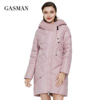 GASMAN New Winter Jacket Women's Hooded Warm Long Thick Coat Hooded Parka Female Warm Collection Down Jacket Plus Size 1702 210202