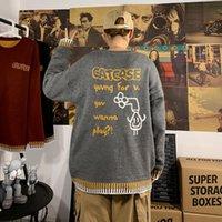 Suéteres para hombre Zazomde Sweater Invierno Hombres Streetwear Retro Patrón Hip Hop Otoño O-Cuello Pareja de gran tamaño Casual