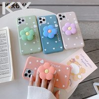 New 3D Lovely flower holder stand Kickstand Soft phone case ...