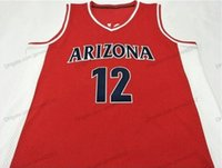 Cheap Custom ROWE #12 Basketball Jersey Men's Stitched Red Any Size 2XS-5XL Name And Number Free Shipping Top Quality