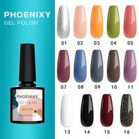 14 Colors 10ML Nail Gel Gel Nail Polish Lacquer Soak Off UV LED Long Lasting Varnish For Manicure Art Set Top Coat