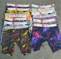 etiqueta estilos aleatórios etiqueta homens boxers underwear esportes hip hop rock popular underwear moda rápido calcinha seca frete grátis por atacado