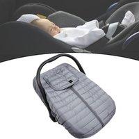 Windelbeutel Winterbabyauto-Sitzbezug Universal Fit Säuglingsträgerabdeckungen Kanaden, um sich vor kaltem und plüschtem Warm zu schützen