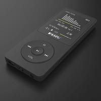 원래 버전 Ruizu X02 MP3 플레이어 8G 휴대용 mp3는 FM 라디오 전자 도서 시계 음성 레코더로 80 시간 연주 가능