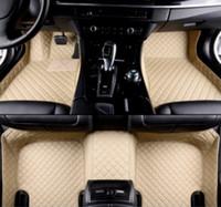 VW 비틀 아틀라스 CC 골프 GTI 제타 파사트 폴로 Tiguan의 수송기 자동차 바닥 매트 럭셔리는 전천후 바닥 매트를 완벽하게