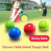 Palloni del soffitto luminoso Stress Stress Silvel Sticky Ball Glow Bersaglio palla notte luce decompressione palle lentamente Squishy Glow Giocattoli per bambini
