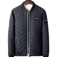 6xL 5XL 100% хлопковая куртка мужчины зимние утолщенные Parkas Slim - теплые мягкие пальто надоестки стенд воротник мужской ветер выключатель подходит Джек 201114