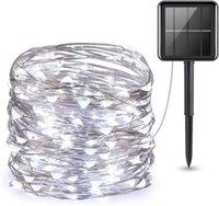 عيد الميلاد حفل زفاف الديكور USB بطارية تعمل بالطاقة جارلاند 10M LED الجنية سلسلة الأنوار الرئيسية السنة الجديدة للطاقة الشمسية أضواء الطاقة ديكور GGB2341