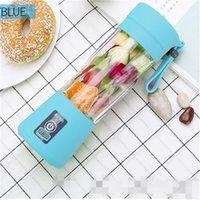 USB Mini Juicer Multifunktions-tragbare Saft-Tasse elektrische Ladung Früchte Mixer Multicolour-Gemüse-Früchte nicht toxisch PP 20 2DL D2