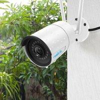 Mini Kameralar Reolink Kamera Wifi 2.4 g / 5g 4MP RLC-410 W Kızılötesi Gece Görüş Ses IP66 Su Geçirmez Açık Kapalı Gözetim RLC-410W1
