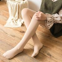 Новая зима Keep Warm Wool сгущаться колготки для женщин высокого качества Эластичность Velvet Solid Nine Очки Колготки ЖЕНСКАЯ