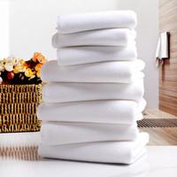 Beyaz Havlu Su Alım Tek Kullanımlık İmitasyon Pamuk Facecloth DIY Otel Bir Banyo Kadını Ara Bayan Adam Havlu Yüksek Kalite 0 75YL K2