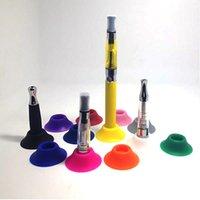 E cig Starter Kit Ego silicone pollone del basamento del supporto della penna Vape Base per cig e bocchino 510 Batteria Base