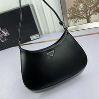2021 Cleo Crossbody Bag Bolsa de Mensageiro Bolsa de Mensageiro Bolsa de Mensageiro para Mulheres Moda Crescent Saco Bolsa