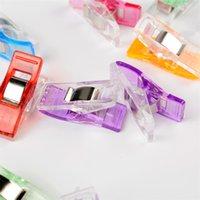 Mini clips de costura multipropósito Pinzas Perfectas para coser unión de tela de acolchado artesanía trabajo de papel y colgando pequeñas cosas 16 N2