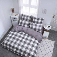 Alanna X Series 3-4 Печатные твердые комплекты постельных принадлежностей для внутренних постельных принадлежностей 4-7 шт. Высокое качество Прекрасный узор с звездой Flower 201210