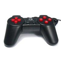 Contrôleur PC USB Jeux de jeu Joypad Joystick pour NE PAS CHOCK NOIR COULEUR DE COULEUR