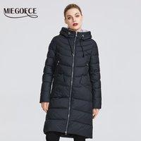 MIEGOFCE Yeni Kış Kadın Ceket Coat Basit Kadınlar Parkas Sıcak Kış Kadın Kat Yüksek Kalite Biyolojik-Aşağı Parkas 201012