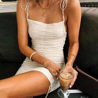 Vestidos elegantes de verano sin mangas de hombro frío vendaje blanco bodycon vestido mujer señoras mini vestido negro vestidos fiesta1
