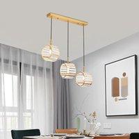 K9 de cristal LED Luz INS modernos de suspensão lustre de cabeça solteiro Living-sala de jantar Cozinha cabeceira luminária de luxo