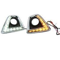 자동차 리어 범퍼 조명 2012 - 2014 Mazda CX-5 LED 브레이크 라이트 데이 러닝 조명 DRL 안개 램프