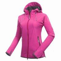 여성 재킷 밴드 여성 Softshell 자켓 양털 야외 스포츠 착용 하이킹 캠핑 승차 방수 방수 여성 코트