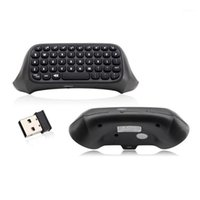 Contrôleurs de jeu Joysticks pour le contrôleur Xbox One Bluetooth Clavier Bluetooth Noir 2.4G Mini Wireless GamePad1